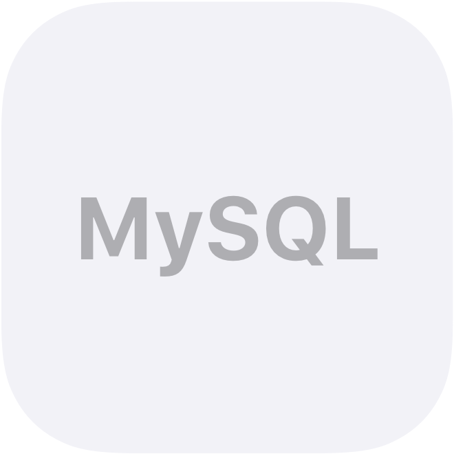 MySQL Database On-Premise logo
